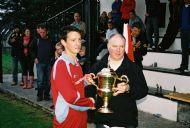 Jock stein Cup Captain